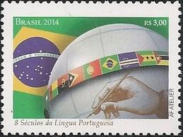 BRAZIL - EIGHT CENTURIES OF THE PORTUGUESE LANGUAGE 2014 - MNH - Brasil