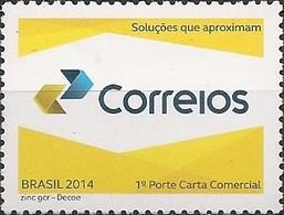 "BRAZIL - ""CORREIOS"", NEW TRADEMARK 2014 - MNH - Brazil"