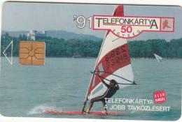 HUNGARY - Balaton Surf, First Issue 50 Units, 06/91, Used - Hungría