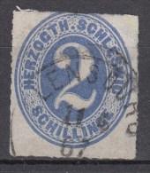 Schleswig Holstein 2 Schilling Mi 16 1865 - Farbkräftig, Flensburg - Schleswig-Holstein