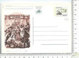 ENTIER POSTAL: Portugal, Alfandega De Lisbao  ( Dos Vierge ) - Postal Stationery
