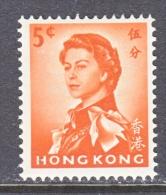 HONG KONG  203   *  Wmk.  314  .  UPRIGHT - Hong Kong (...-1997)