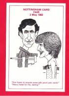 Nottingham Postcard And Cigarette Card Fair, 2May 1992, Lakeside Pavillion, A7. - Collector Fairs & Bourses