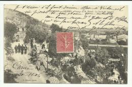Cpa  , MONTFORT Sur ARGENS , Voyage De M. Bèrard , La Sortie Du  Banquet , Animé   -  1904 - Altri Comuni
