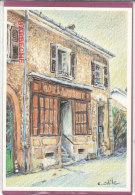 90.-  VALDOIE .- Ancienne Boulangerie  Rue De La Savoureuse  ( Illstr. C. ODILE 200ex..) - Valdoie
