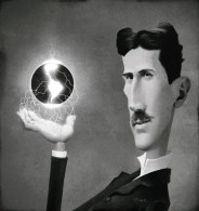 @@@ MAGNET - Nikola Tesla - Publicitaires