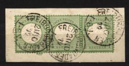 D.R.Nr.7 (3)auf Bs. (131) - Oblitérés