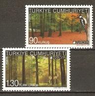 Turkey 2011  Europa Birds Animals 2v  MNH** - Nuevos