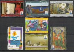 Griechenland  2006 Mi. 2340-6  **MNH Patras - Europäische Kulturhauptstadt 2006 - European Ideas