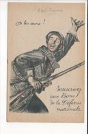 Grande Guerre 1914/1918 /  Souscrivez Aux Bons De La Défense Nationale / On Les Aura !  / Dessin De Abel Faivre - Patriotic