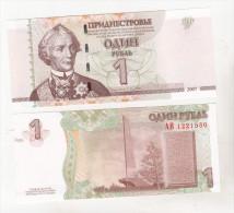 Moldova - Transnistria - 1 Rouble 2007 , Uncirculated - Moldova