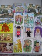 18 TEDDY BEAR MODERN CARDS - Games & Toys