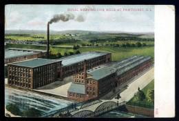 Cpa Etats Unis Pawtucket Royal Weaving Co's Mills ...  Rhode Island  AO50 - Pawtucket