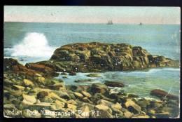 Cpa Etats Unis Indian Rock Narragansett Pier  ...  Rhode Island  AO50 - Pawtucket