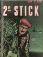 2e STICK RECIT PARACHUTISTE INDOCHINE BERET ROUGE TAP COMMANDO 1950 - Francese