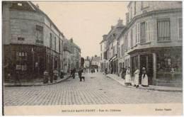 Neuilly Saint Front - Rue Du Château ( édition Mazier ) - Sissonne