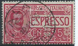 Italia 1903 Usato - Espresso 25c - Posta Espresso