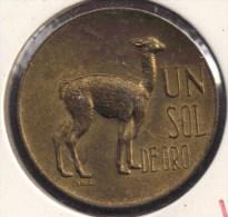 PERU 1 SOL 1966 LAMA - Peru