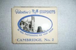 Ensemble De 10 Vues De Cambridge ( Circa 1950 ) Dans Une Pochette - Lieux