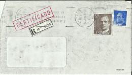 VALENCIA FRONTAL CERTIFICADA SELLOS BASICA JUAN CARLOS I - 1981-90 Cartas