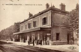 Seurre - Intérieur De La Gare - Autres Communes