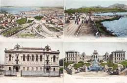 Marseille - 4 Cpa Colorisees - L' Ecole Des Beaux Arts, La Bibliotheque, Bonneveine.... ( 9264) - Canebière, Centre Ville