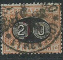 Italia 1890/1 Usato - Segnatasse 20c Su 1c - 1900-44 Vittorio Emanuele III