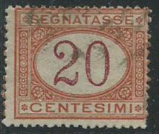 Italia 1890/4 Usato - Segnatasse 20c - 1900-44 Vittorio Emanuele III
