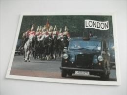 London Auto Car Taxi Soldati A Cavallo - Taxi & Carrozzelle