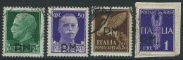 Italia 1942 PA Usato - Posta Militare 4v Non Completa - 1900-44 Vittorio Emanuele III