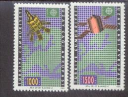 CEPT Türkei 2921 - 2922 Europäische Weltraumfahrt Postfrisch MNH ** - 1991