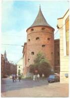 Latvia, Riga, Pulvera Tornis, Used Postcard [14150] - Latvia