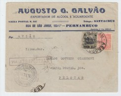 Brazil AIRMAIL COVER 1930 - Brazil