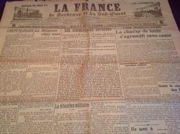 WW1 Le 15 Octobre 1914 - A VOIR - LA FRANCE DE BORDEAUX ET DU SUD OUEST - Revues & Journaux