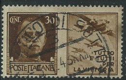 Italia 1944 RSI Usato - Propaganda Di Guerra 50c La Disciplina - 4. 1944-45 Repubblica Sociale