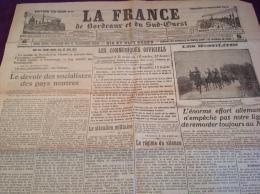 WW1 Le 16 Octobre 1914 - A VOIR - HAZEBROUCK - TROUPES INDIENNES - LA FRANCE DE BORDEAUX ET DU SUD OUEST - Revues & Journaux