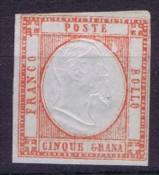 Italy:  Mi Nr 5d MH/** - 1861-78 Victor Emmanuel II.