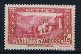 Andorre: 1932 Mi 40 MH/*