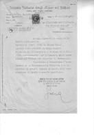 """Lettera Dattiloscritta Con Firma Autografa Di """""""" CARLO SALSA """""""" --Alessandria 1893 -- Milano 1962 - Autografi"""