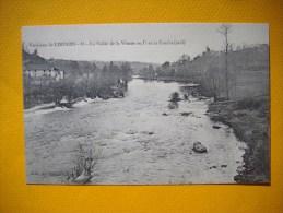 Cpa  LIMOGES ( Environs De   )   -  87  - La Vallée  De La Vienne  Et Pont Du Condat  - Haute Vienne - Limoges