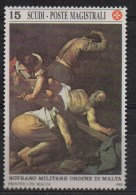 """PIA - SMOM - 1988 -  Maestri Della Pittura - Michelangelo Merisi Detto """"Il Caravaggio"""" -   (UN  264) - Malte (Ordre De)"""