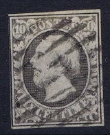 Luxembourg: 1852 Yv Nr 1 Used