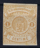 Luxembourg: 1859 Yv Nr 3 Not Used (*)