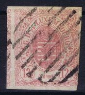 Luxembourg: 1859 Yv Nr 7 Used