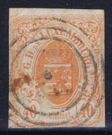 Luxembourg: 1859 Yv Nr 11 Used
