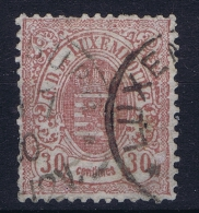 Luxembourg: 1874 Yv Nr 33  MI 34  Used