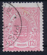 Luxembourg: 1880 Yv Nr 43  MI 39A MH/*    Perfo 13,50