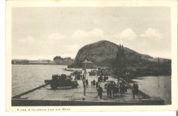 A View Of Grindstone Cape And Wharf, Grindstone, Quebec - Quebec