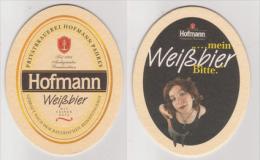 Hofmann Privatbrauerei Pahres , Weißbier - Mein Weißbier Bitte - Bierdeckel