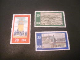 K9724- Set  MNH DDR 1975- SC.1686-1688- Milennium Weimar - DDR